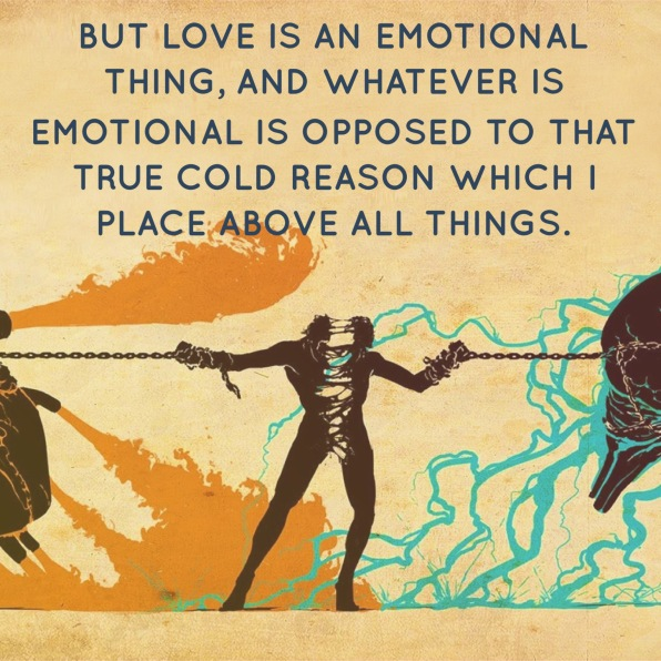 LOVE IS AN EMOTIONAL THING